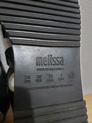 Melissa Flox Iii 36 preta e branca - Foto 4