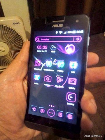 Asus ZenFone 5 A501CG Lindo Impecável 16 Gb com Pelicula de Vidro e Carregador