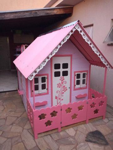 Casinhas de bonecas e balanços infantis - Foto 4