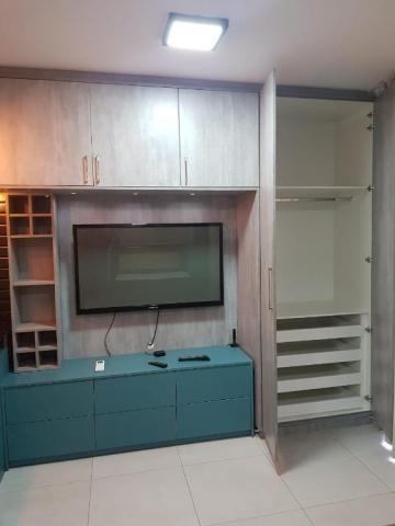 Apartamento com 1 dormitório para alugar, 33 m² por R$ 1.800/mês - Jardim Tarraf II - São  - Foto 9