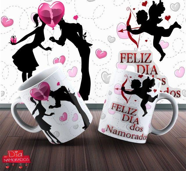 Canecas Dia Da Namorada Personalizada 325ml #. Deqem Qbdvy - Foto 6