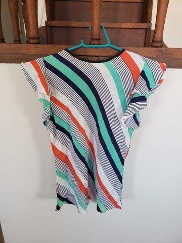 Lote de 2 blusas femininas (tamanho M)