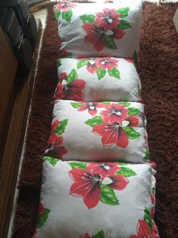 Colchonete de travesseiro dobrável - Foto 4