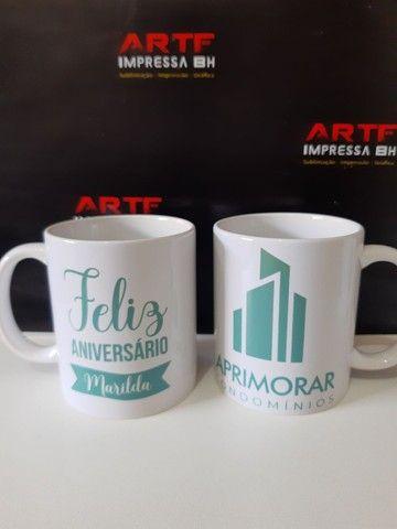 Xícaras de porcelanas Personalizadas - Foto 3
