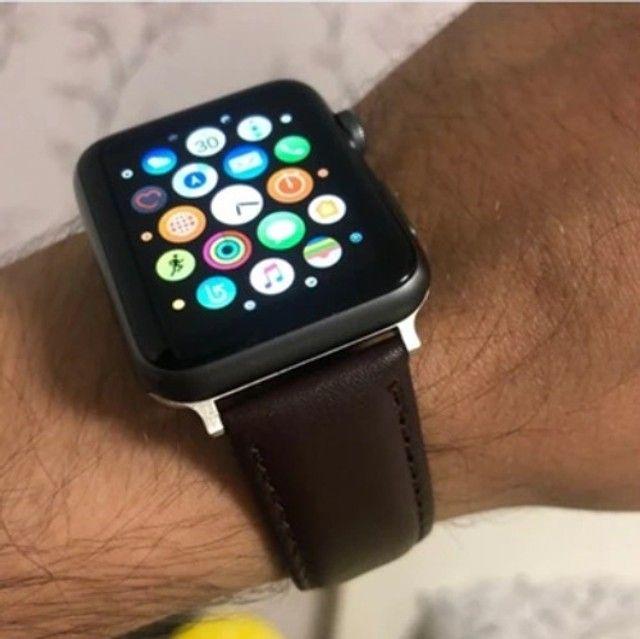 Pulseira de couro para Apple Watch 38/40/42/44! - Foto 6