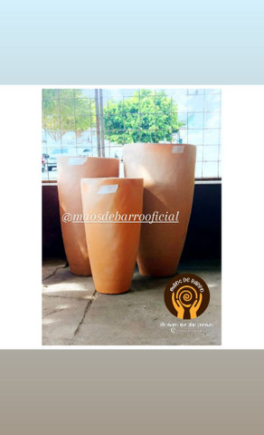 Vasos de barro p decorar seu ambiente. - Foto 3