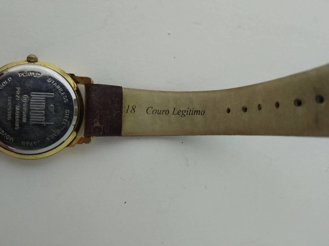 Relógio Dumont feminino dourado  - Foto 6