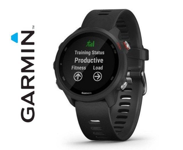 Relógio Com Gps Garmin Forerunner 245 Music Preto - Novo - Pronta Entrega! - Foto 3