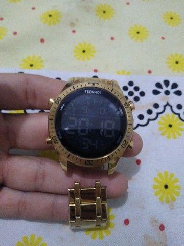 Relógio Technos Digital - ***( OBS: TEM QUE CONCERTAR A PULSEIRA )**** - Foto 3