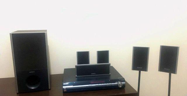 Home theater Sony 5.1 com DVD e USB