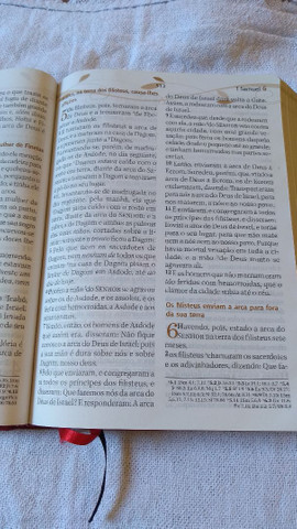 Bíblia de estudo para casais USADA sem nenhuma anotação. - Foto 5