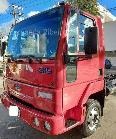 Ford cargo 815 chassis - baixo km - revisado  - Foto 9