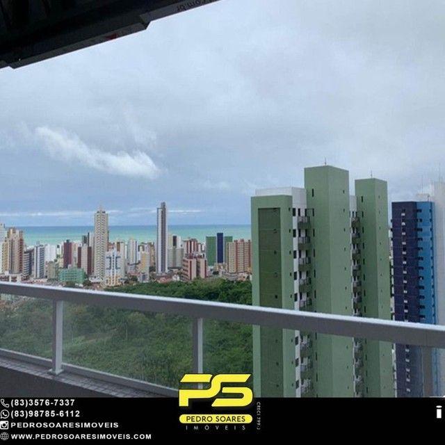 Apartamento com 2 dormitórios à venda, 64 m² por R$ 375.000 - Miramar - João Pessoa/PB - Foto 4