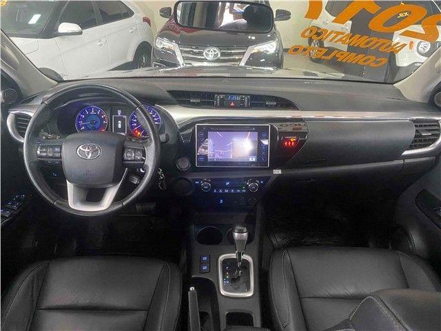 Toyota Hilux 2.7 Srv 4x2 Flex + Gnv Automático 2017!!! - Foto 11