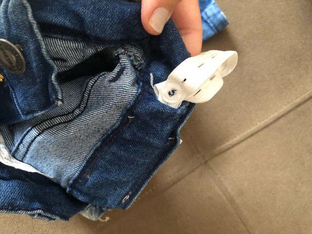 Calça jeans menino com regulador  - Foto 3