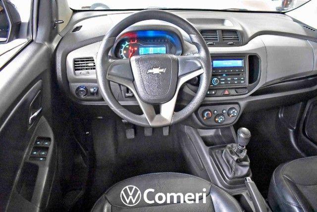 GM Spin 1.8  LT  Completo Manual  5 Lugares 2016 Preta (Com 102 mil Km). - Foto 5