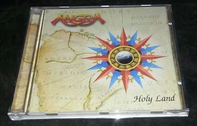 Angra - Holy Land e outros. (Overkill,Stryper)