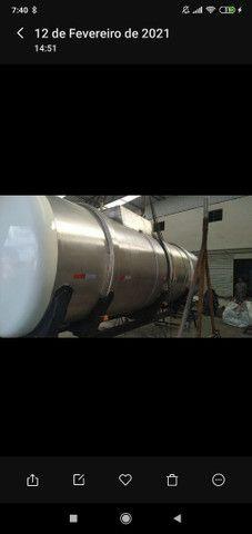 Tanque pra pipa de inox 15 mil litros - Foto 4