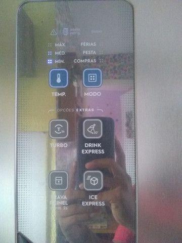 Geladeira inox 431 litros Eletrolux na garantia, valor negociável,aceito cartão - Foto 6