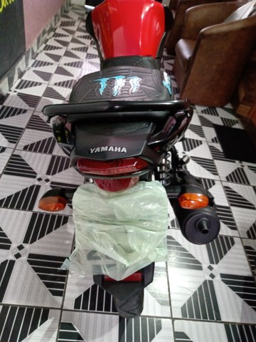 Vendo ou troca por Crossi ou Bros 2015 Yamaha fector ED 125 2017 2018 VL 7.500   - Foto 8