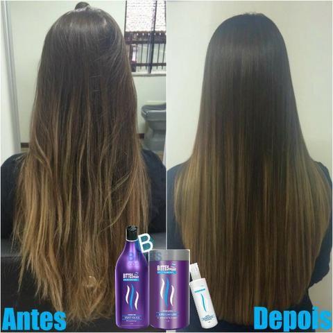 3 Kit Lipo Capilar Bittes Hair Menthol Ice Desemborrachante Cabelos Macios Brilhosos - Foto 4