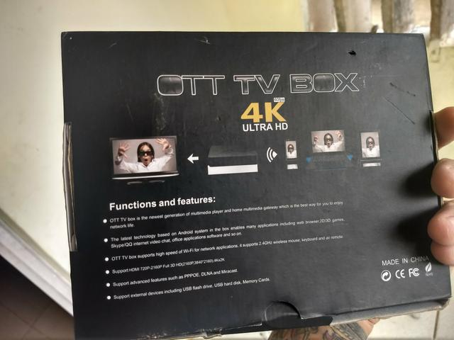 ott tv box 4k ultra hd