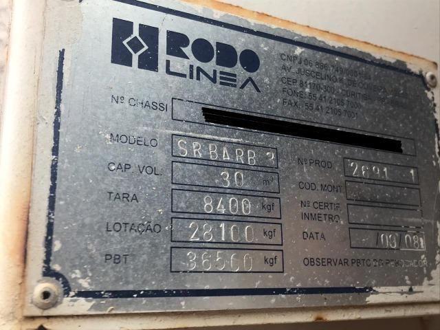 Reboque LS Caçamba Basculante 30M - Rodolinea (aceita trocas) - Foto 5