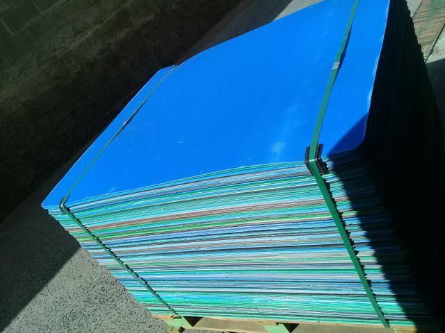 Chapas de poliondas usadas 1,00 x 1,20 - Foto 3