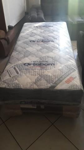 Cama Box de solteiro Molas ensacadas - Foto 2