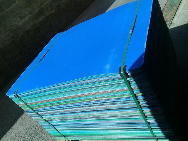 Chapas de poliondas usadas 1,00 x 1,20 - Foto 5