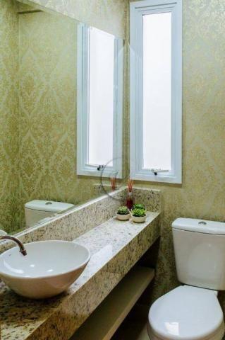Apartamento com 3 dormitórios para alugar, 90 m² por r$ 2.800/mês - jardim bela vista - sa - Foto 16