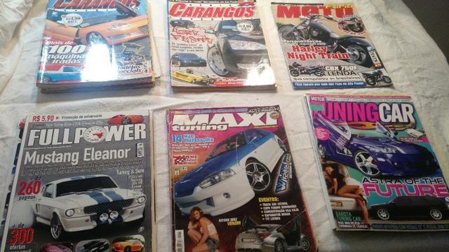 Revistas Carangos e Tunning Car - Foto 2