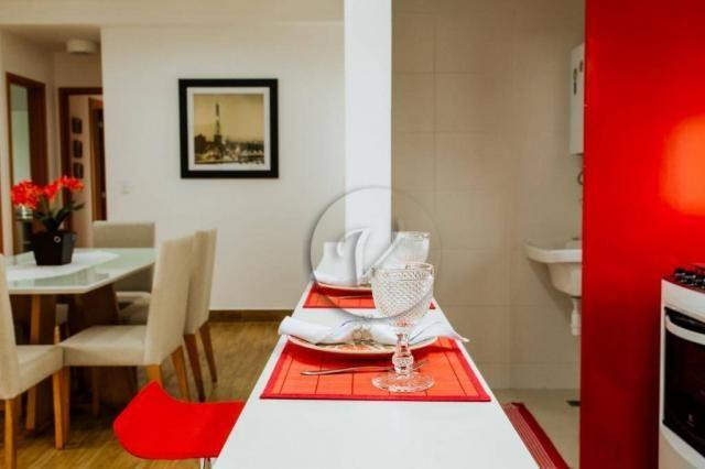 Apartamento com 3 dormitórios para alugar, 90 m² por r$ 2.800/mês - jardim bela vista - sa - Foto 6