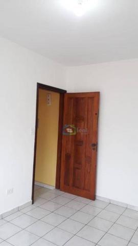 Casa com 2 dormitórios para alugar, 70 m² por r$ 1.100,00/mês - parque maria helena - são  - Foto 11
