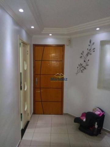 Apartamento com 2 dormitórios à venda, 56 m² por r$ 265.000 - vila alpina - são paulo/sp - Foto 7