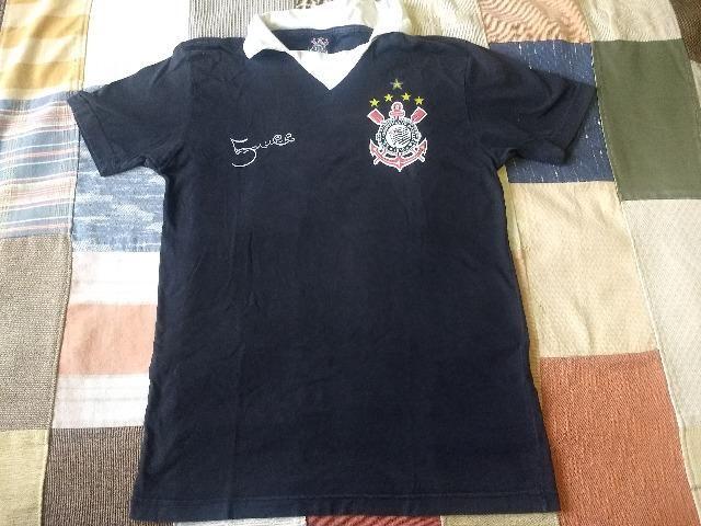 Camiseta corinthians marcelinho carioca - Foto 3