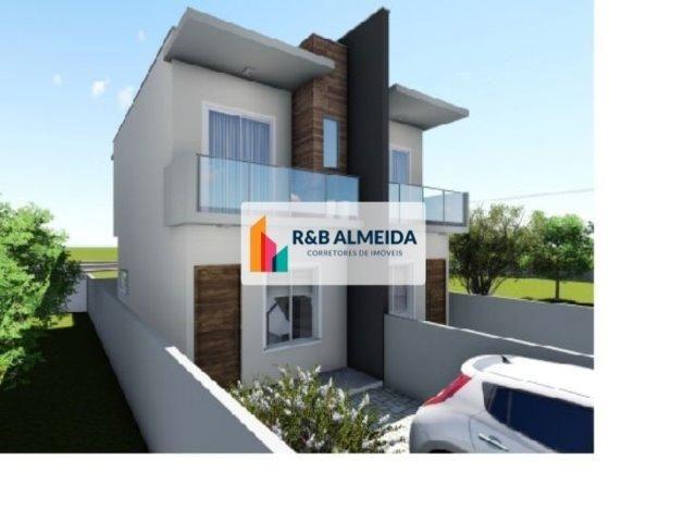 JA-Bonita Casa duplex 2 dormitórios c/76m² de área construida Ingleses - Foto 4