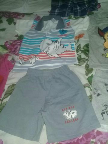 Lote de roupas Menino de 1 ano - Foto 6