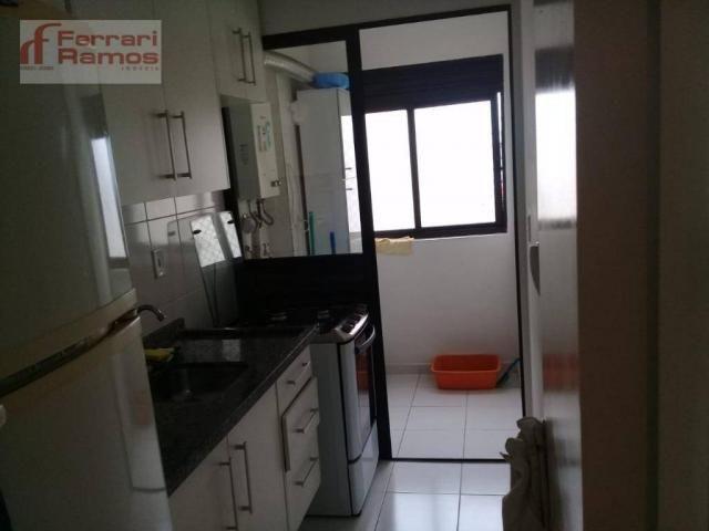 Apartamento com 2 dormitórios à venda, 47 m² por r$ 245.000,00 - portal dos gramados - gua - Foto 15