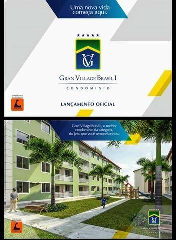 PH-Apto 2 Quartos sendo 1 Suite//Turu//G Village Brasil