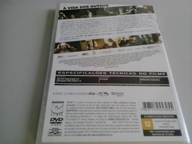 DVD A vida dos outros - Foto 2