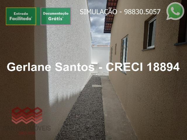 Escritura Grátis Casa 02 Quartos, 2 banheiros, 2 garagens - Foto 20