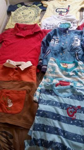 Malote de roupas menino