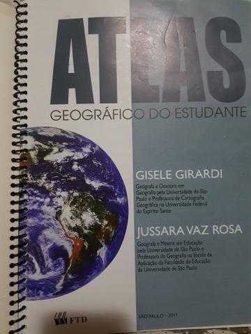 Livro Atlas geográfico do estudante - Foto 2