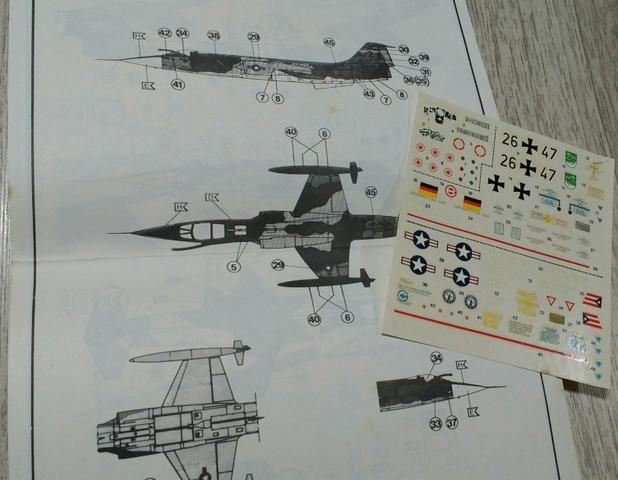 Avião de plástico para montar do Lockheed F-104C/G Starfighter, escala 1/48, da Revell - Foto 5