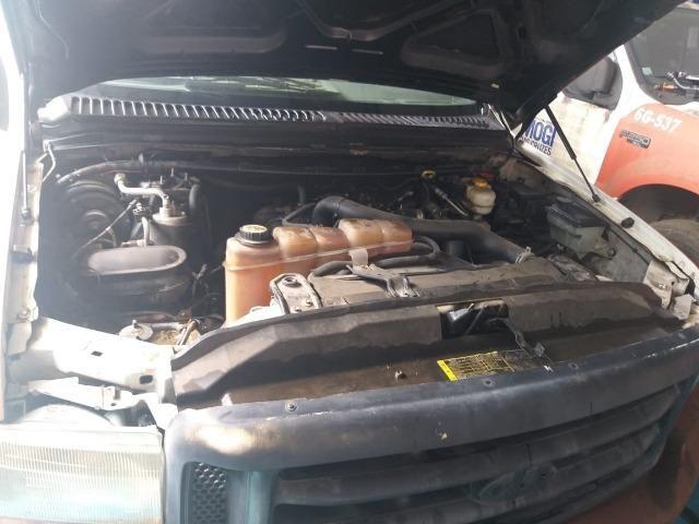 04 F250 4x2 Diesel - Sucata S/ Documento - Retirada De Peças - Foto 8