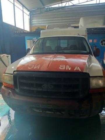 04 F250 4x2 Diesel - Sucata S/ Documento - Retirada De Peças - Foto 3