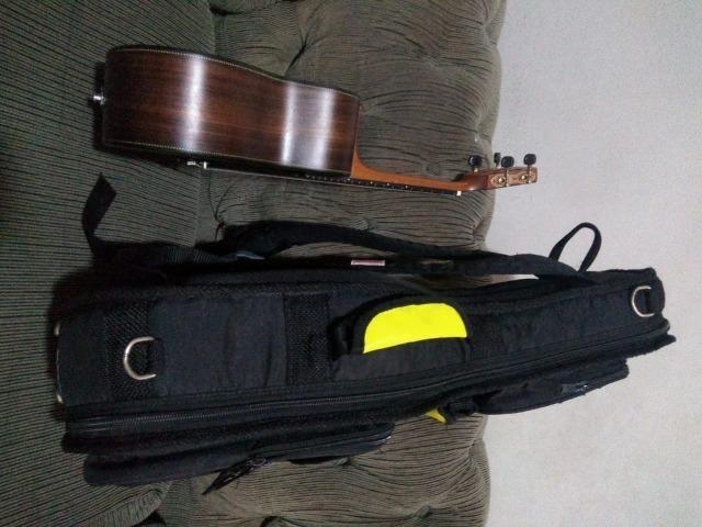 Cavaquinho Araújo Luthier Super Clássico Jacarandá Escala em Ébano Com Bag Anthology - Foto 4