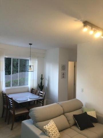 Apartamento Semi-mobiliado - Condomínio Clube Dallas - Campo Largo - Foto 3
