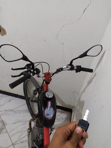 Bicicleta Motorizada 80cc - Foto 3